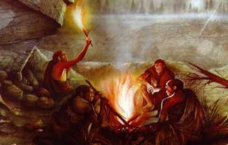 il fuoco rappresenta una delle prime fonti di energia gestite consapevolmente dall'uomo